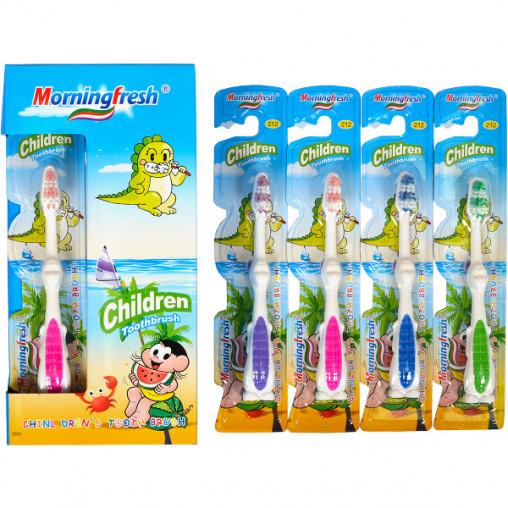 """Зубные щётки детские """"Morningfresh"""", 14 см дракончик M-212"""
