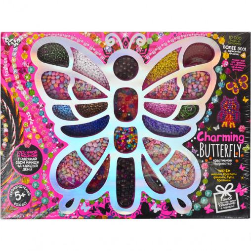 """Набор бисера и бусин """"Charming Butterfly"""" СНВ-01-01 ДТ-ОО-09103"""