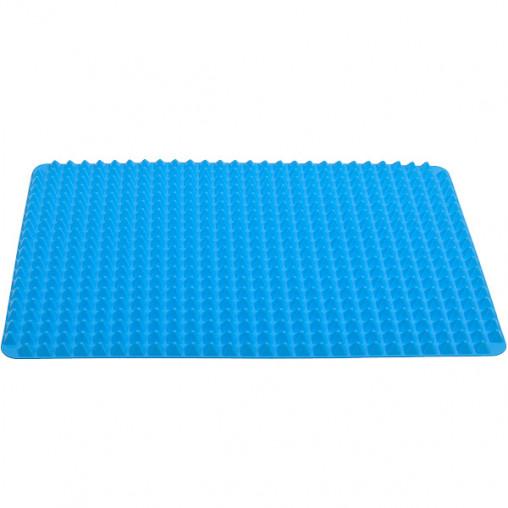 Коврик силиконовый для выпечки рельефный 40*29см X3-143