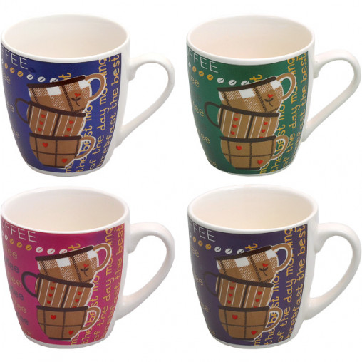 """Чашка фаянс """"Кофе"""" 200мл X3-14"""