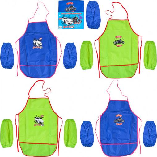 Фартук детский с нарукавниками для мальчиков CR5520