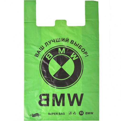 Пакет поліетиленовий BMW №800, 75 мкм, великий