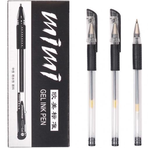 Ручка гелевая 168 черная