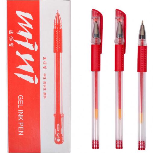 Ручка гелевая Р168/Z-200 красная