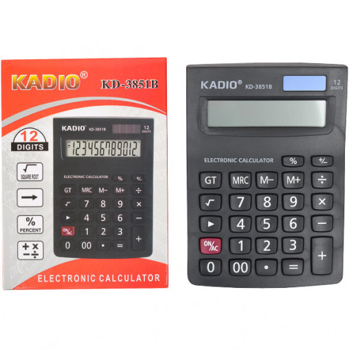 Калькулятор KD3851B 14,5х10,5х2,5 см