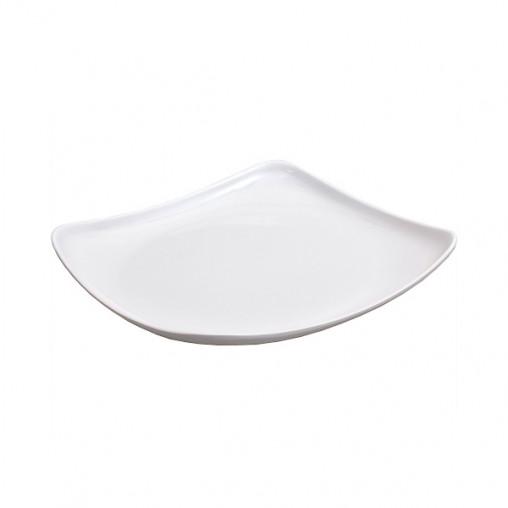 Меламиновая тарелка 4-х угольная 575 19*19см
