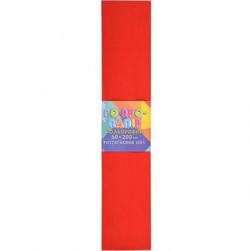 Бумага гофрированная красная CP-100-01 20г/м2 100%, 50*200см, 10шт./уп. КП034/1