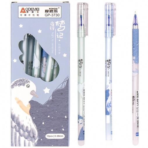 """Ручка """"пишет-стирает"""" 3730 синяя"""