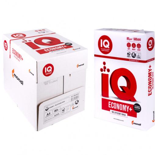 Бумага для ксерокса IQ Economy  А4 500 листов, 80г/м²