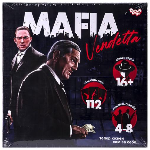 "Розважальна гра ""MAFIA Vendetta"" укр MAF-01-01U ДТ-БИ-07-71"
