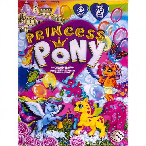"""Настольная игра """"Princess Pony"""" DTG96 ДТ-ИМ-11-32"""