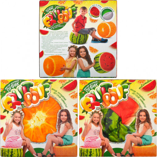 """Пуфик мягкий надувной """"Fruit Pouf"""" FP-01-01 ДТ-ОО-09187"""