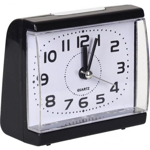 Настольные часы - будильник 8831/Х2-9-1(19) с кнопкой 8,5*7,5*4 см