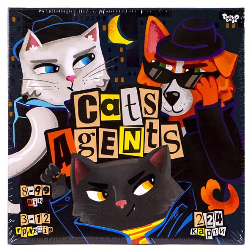 """Развлекательная игра """"CATS AGENTS"""" укр. G-CA-01-01U ДТ-БИ-07-80"""