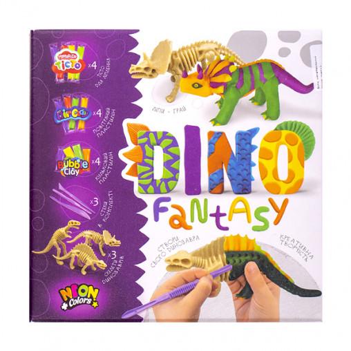 """Креативна творчість """"Dino Fantasy"""" укр DF-01-01.02U ДТ-ТЛ-02105"""