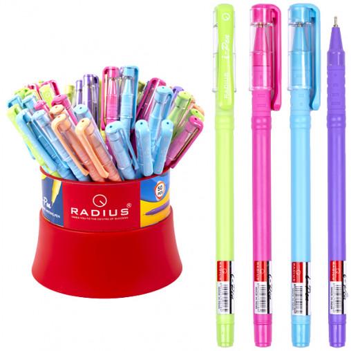 """Ручка """"I Pen"""" RADIUS цветной матовый корпус синяя 50шт в банке 500184"""