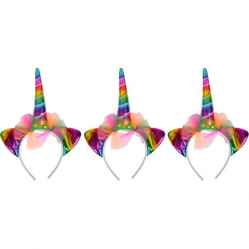 Обідок Однорога кольоровий голограма 10-09