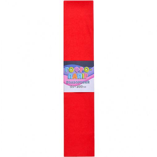 Бумага гофрированная СР-75-01 17г / м2 75%, 50 * 200см, 10шт. / Уп. Красный КП032/1