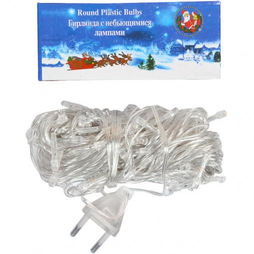 Гирлянда электрическая 100(80) лампочек 4 цвета LED цветная 13-89