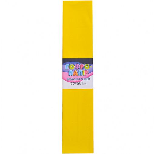 Бумага гофрированная СР-75-706 17г / м2 75%, 50 * 200см, 10шт. / Уп. Желтый КП032/19