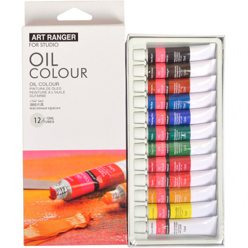 "Краски 12мл ""Art Ranger"" 12 цветов ""Oil"" EO1212C-3"