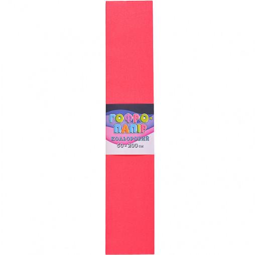 Бумага гофрированная СР-75-705 17г / м2 75%, 50 * 200см, 10шт. / Уп. красный арбуз КП032/18