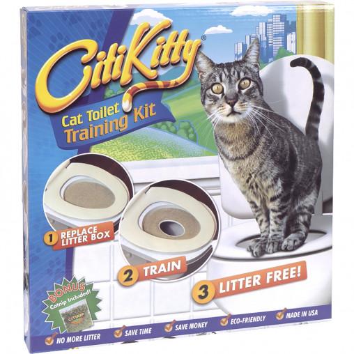 Туалет для кошек для приучения к унитазу Citi Kitty Original TV-20