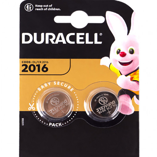 "Батарейка Duracell ""таблетка"" DL/CR 2016 045736/5007667"