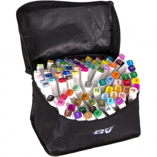 Набор скетч-маркеров 80 цветов BV800-80 в сумке