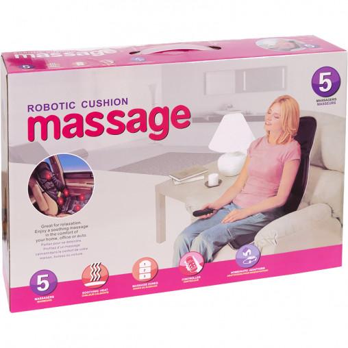 Массажная накидка на кресло Massage Seat Topper с пультом управления для дома и автомобиля TV-10