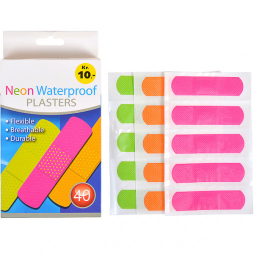 "Пластырь""Neon Waterproof"" 7,2*1,9мм X1-52/58290"