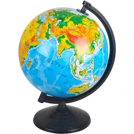 Глобус D260 мм украинский, географический