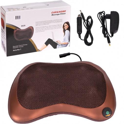 Автомобильная подушка-массажер для с IK подогревом 8028/TV-8