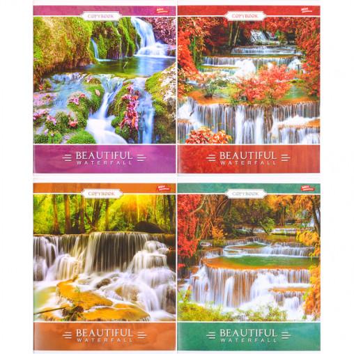 Тетрадь цветная 96 листов, линия 2561л