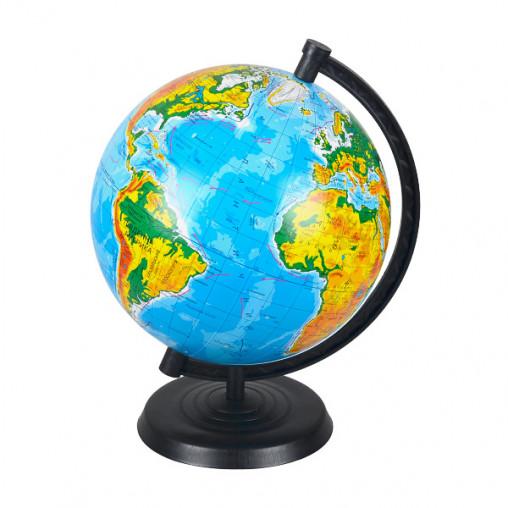 Глобус D220 мм украинский, географический
