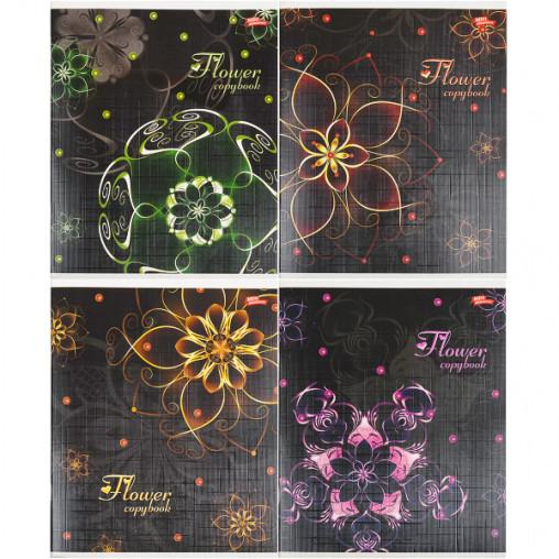 Тетрадь цветная 60 листов, клетка 1898к