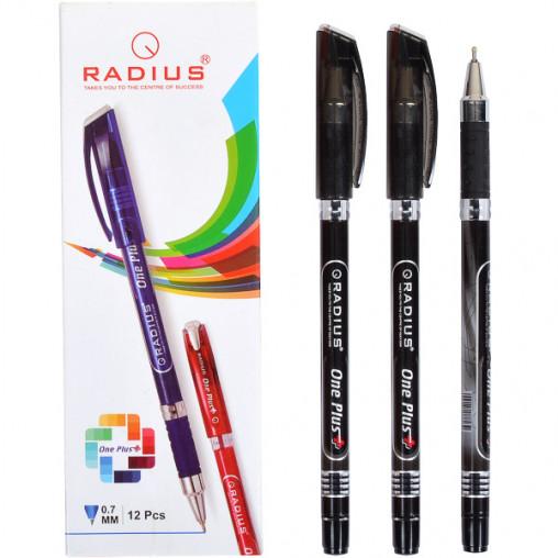 """Ручка """"One Plus"""" RADIUS 12 штук, черная 778439"""