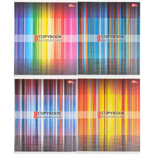Тетрадь цветная 60 листов, линия 3126л
