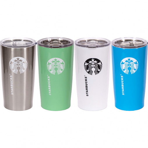Термостакан Starbucks 500 мл 17*8,5*7см (прозрачная крышка) 110436/Х2-48
