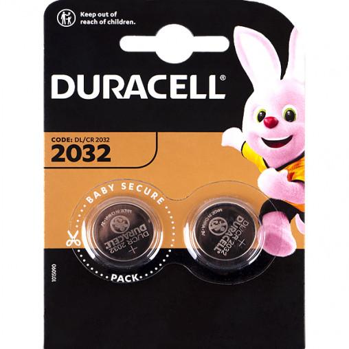"Батарейка Duracell ""таблетка"" DL/CR 2032 054967/5007659"