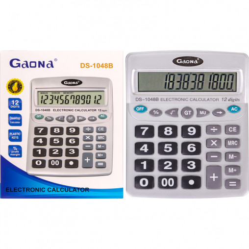 Калькулятор KD1048B 20х16х4 см
