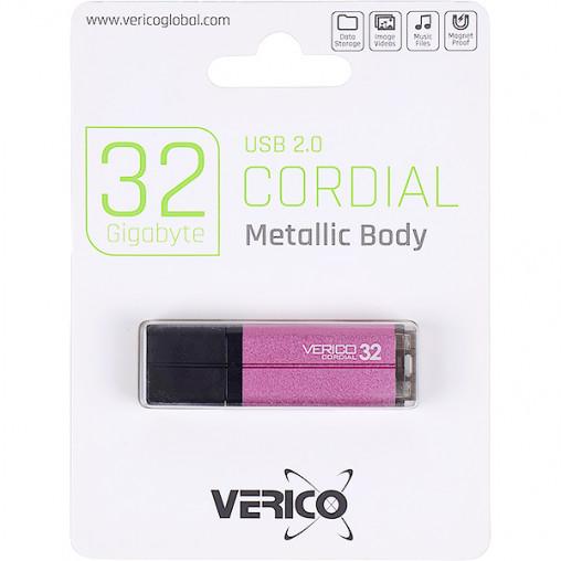 Флешка Verico USB 32Gb Cordial Pink 1UDOV-MFPK33-NN 601385/018072