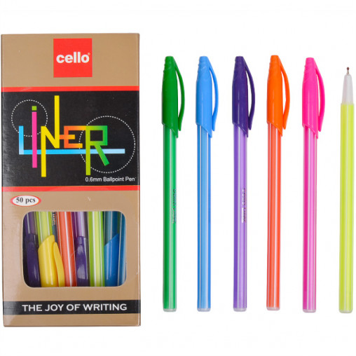 Ручка масляная Cello CL-1168 синяя