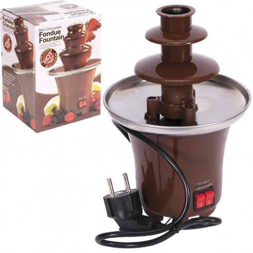 Шоколадный фонтан Фондю Mini Chocolate Fondue Fountain TV-68