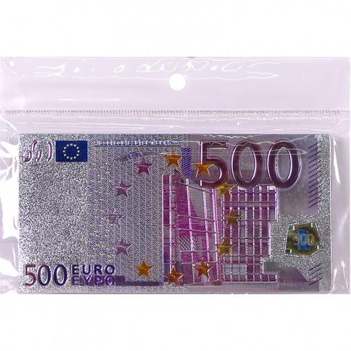 """Магнит """"500 Евро"""" прямоугольный 2-92"""