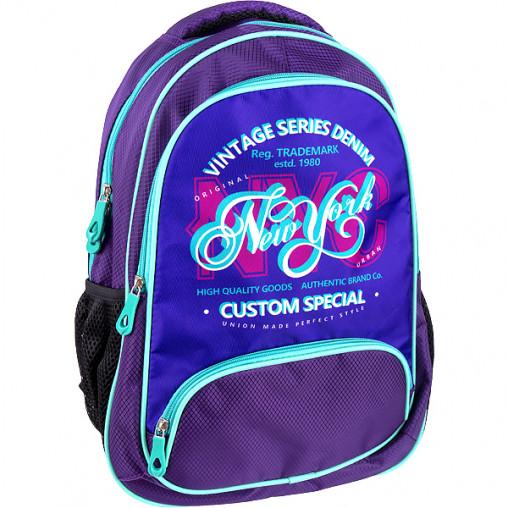 """Рюкзак California M """"Темно-фиолетовый""""  42*29*13см 980546"""