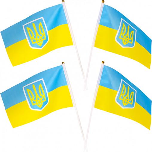 """Флаг """"Украина"""" 14*21 2-33"""