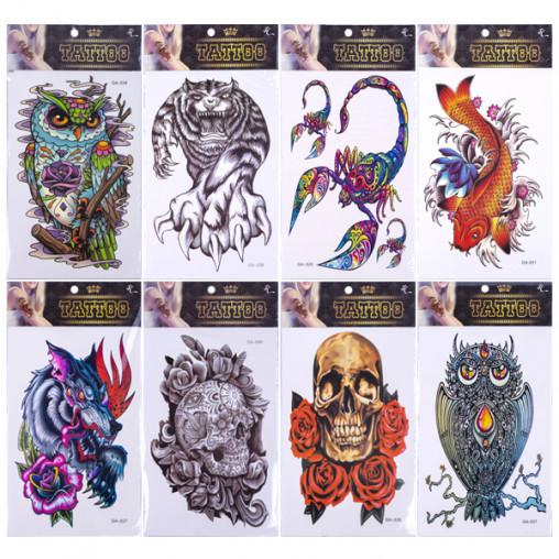 """Татуировки цветные """"Тattoo"""" 334"""