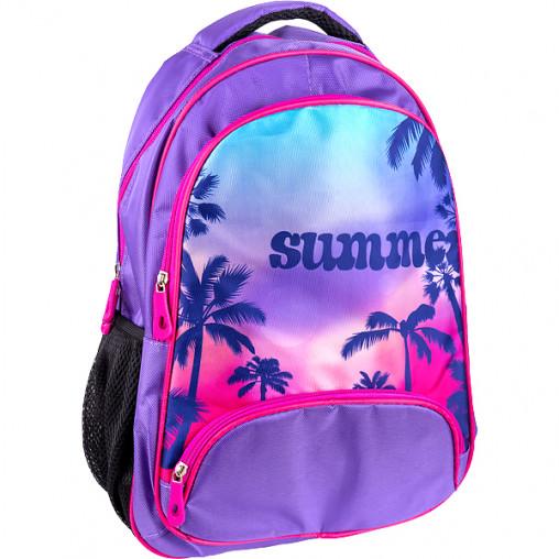 """Рюкзак California M """"Лето"""" фиолетовый 42*29*13см 980545"""