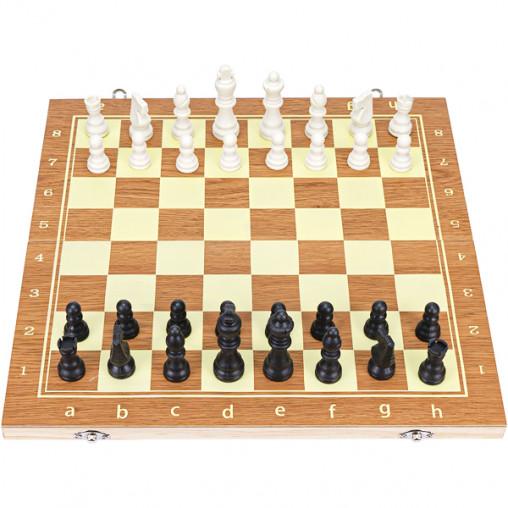 Шахматы деревянные 3 в 1, 40см 7103